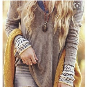 Free People Alpine Cuff Thermal